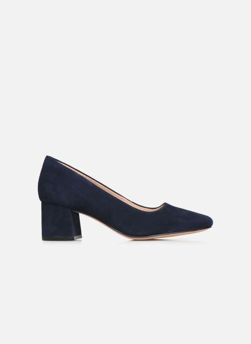 Zapatos de tacón Clarks Sheer Rose Azul vistra trasera