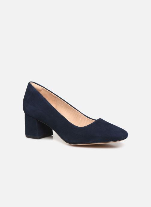 Zapatos de tacón Clarks Sheer Rose Azul vista de detalle / par