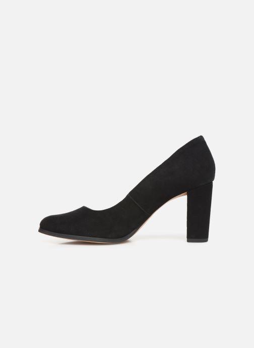 Zapatos de tacón Clarks Kaylin Cara Negro vista de frente