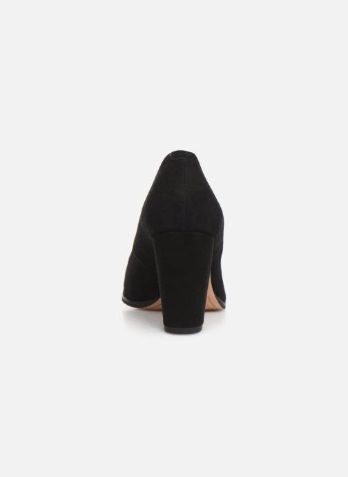 Zapatos de tacón Clarks Kaylin Cara Negro vista lateral derecha
