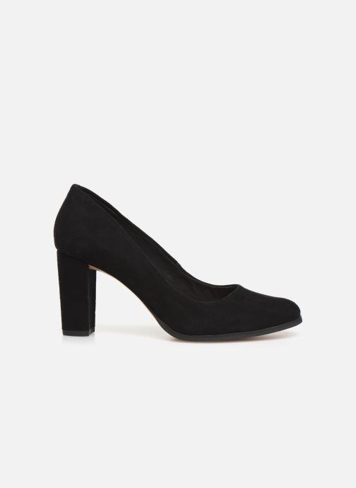 Zapatos de tacón Clarks Kaylin Cara Negro vistra trasera