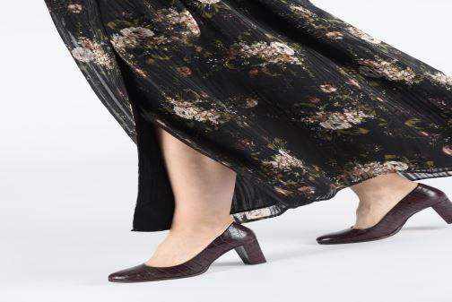 Zapatos de tacón Clarks Kaylin Cara Oro y bronce vista de abajo