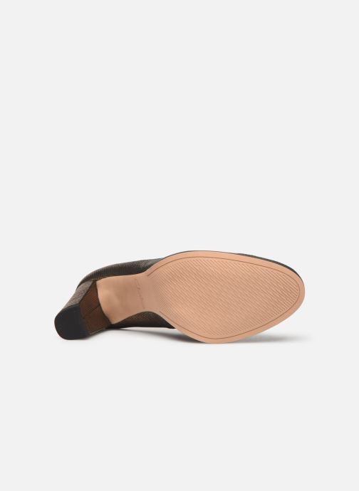 Zapatos de tacón Clarks Kaylin Cara Oro y bronce vista de arriba
