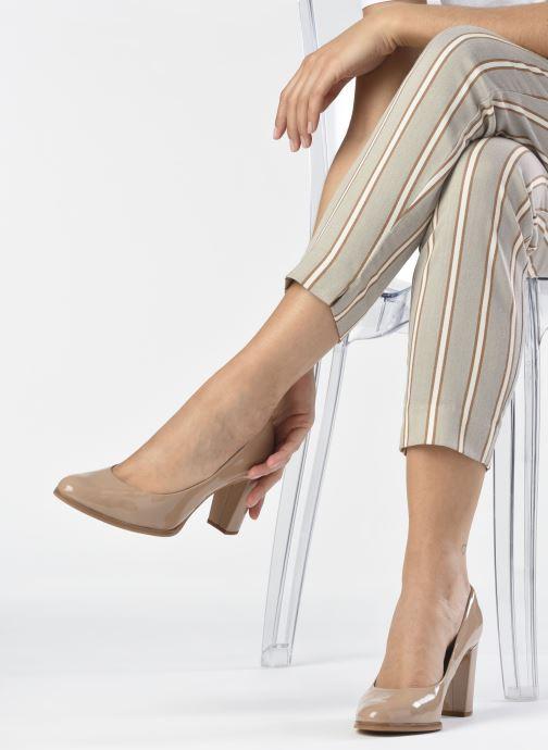 Zapatos de tacón Clarks Kaylin Cara Rosa vista de abajo