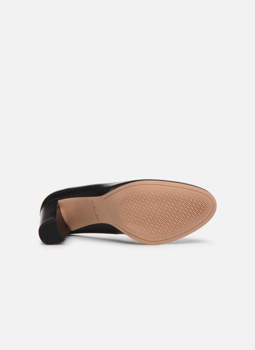 Zapatos de tacón Clarks Kaylin Cara Negro vista de arriba