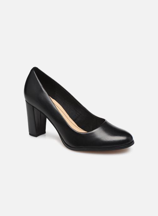 Zapatos de tacón Clarks Kaylin Cara Negro vista de detalle / par