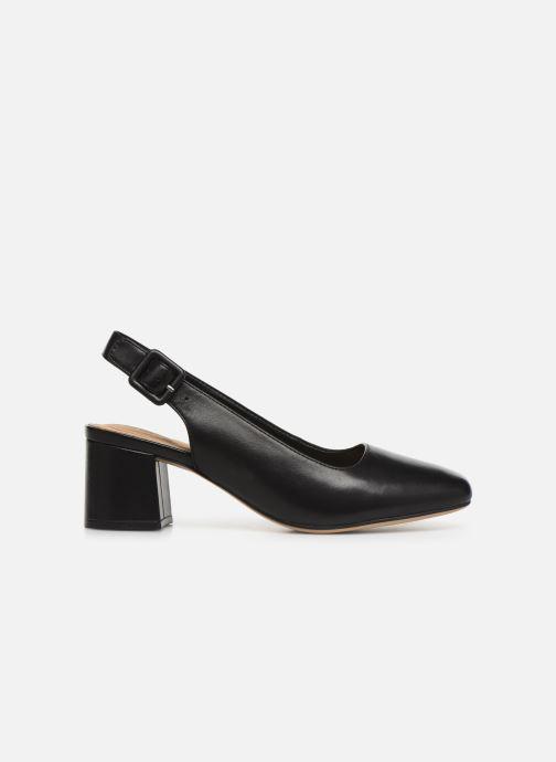 High heels Clarks Sheer Violet Black back view