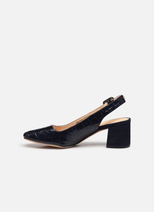 Zapatos de tacón Clarks Sheer Violet Azul vista de frente