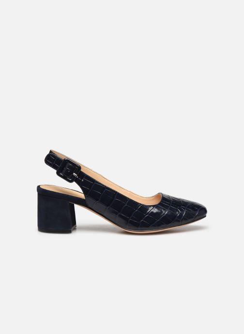 Zapatos de tacón Clarks Sheer Violet Azul vistra trasera