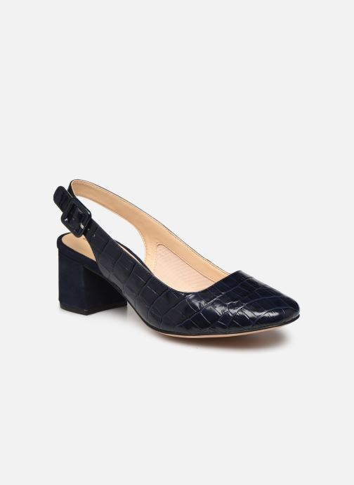 Zapatos de tacón Clarks Sheer Violet Azul vista de detalle / par
