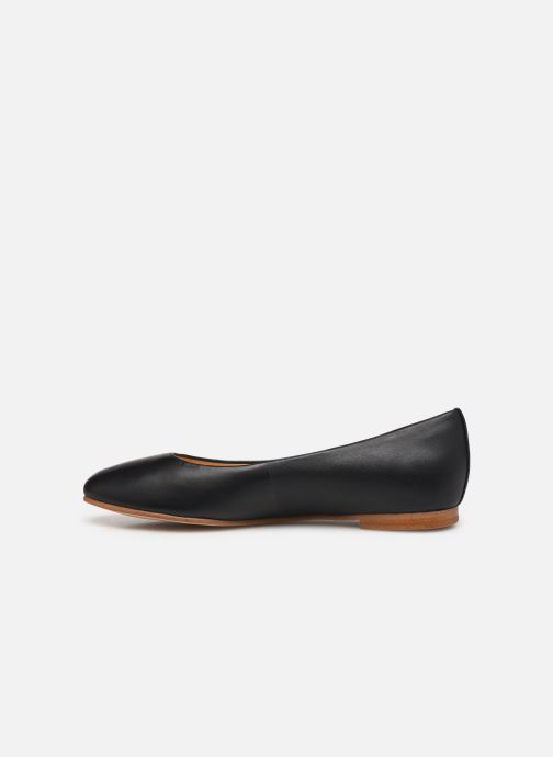 Ballerines Clarks Grace Piper Noir vue face
