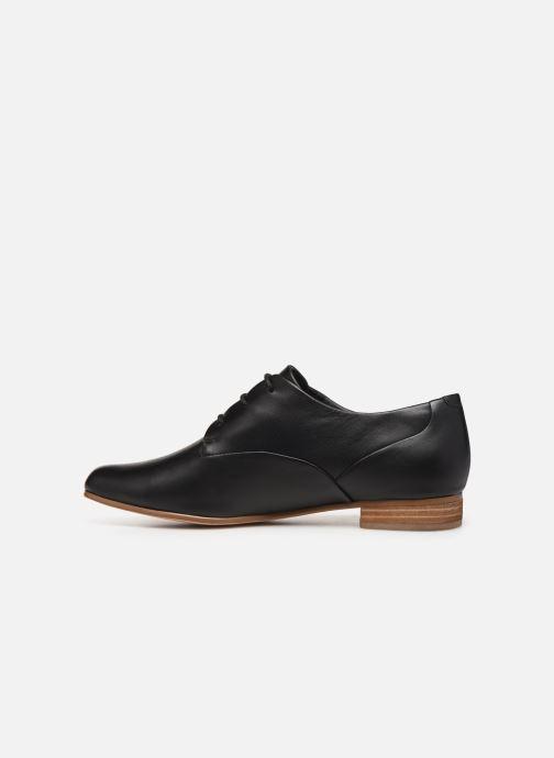Lace-up shoes Clarks Pure Mist Black front view