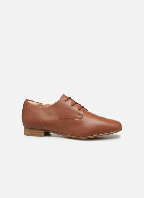 Lace-up shoes Clarks Pure Mist Brown back view
