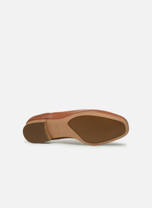 Lace-up shoes Clarks Pure Mist Brown view from above