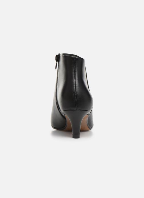 Bottines et boots Clarks Linvale Sea Noir vue droite