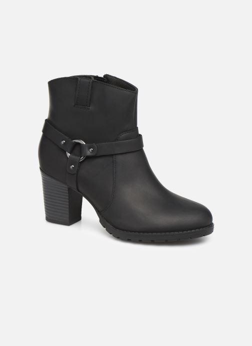 Boots en enkellaarsjes Clarks Verona Rock Zwart detail