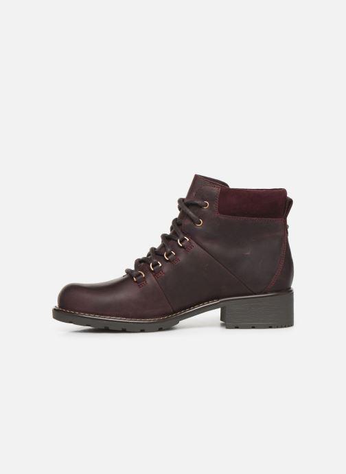 Bottines et boots Clarks Orinoco Demi Bordeaux vue face
