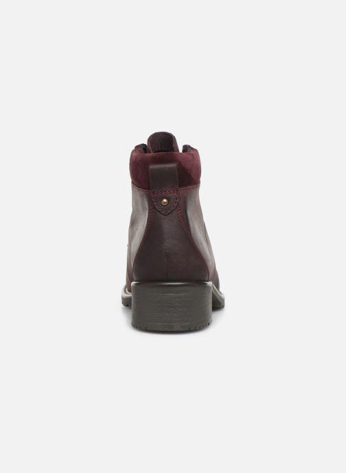 Bottines et boots Clarks Orinoco Demi Bordeaux vue droite