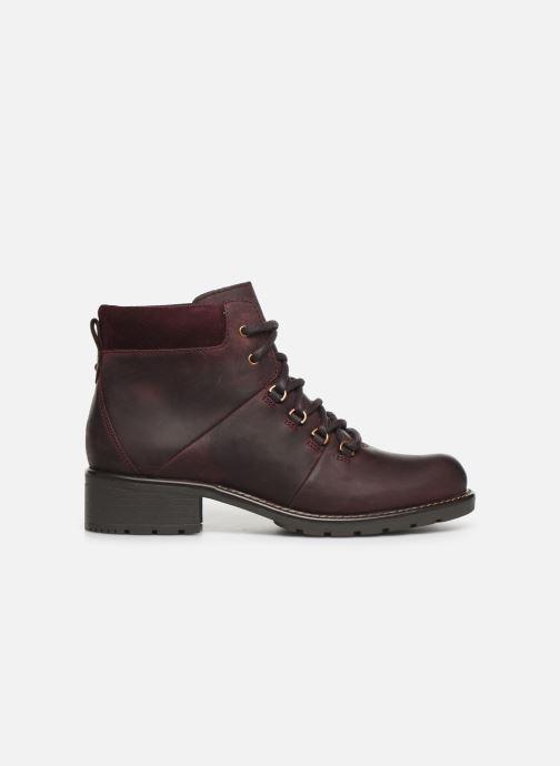 Bottines et boots Clarks Orinoco Demi Bordeaux vue derrière