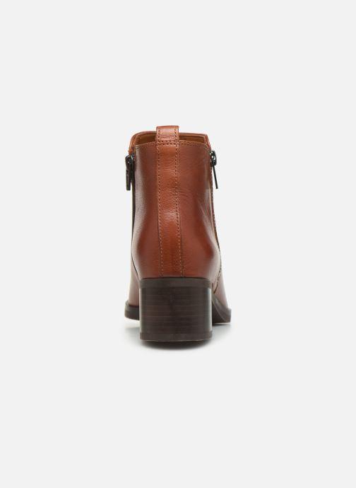 Bottines et boots Clarks Mila Sky Marron vue droite