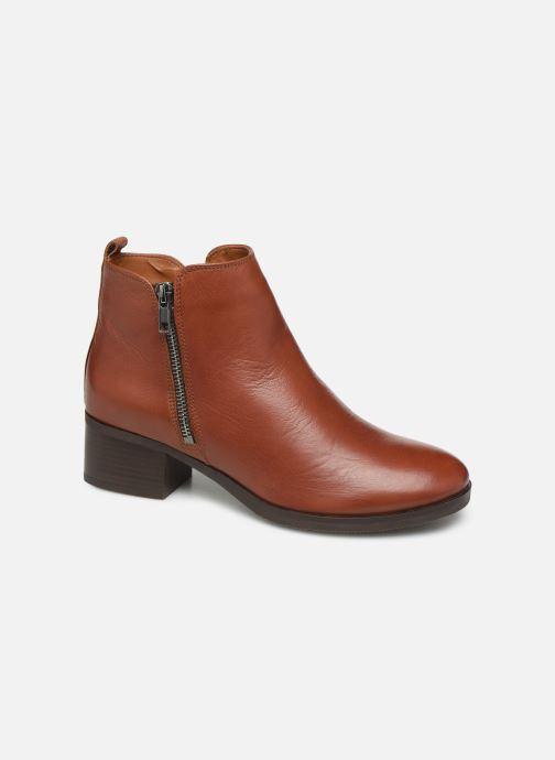 Bottines et boots Clarks Mila Sky Marron vue détail/paire