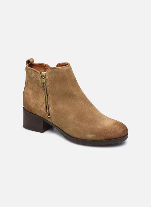 Bottines et boots Clarks Mila Sky Beige vue détail/paire