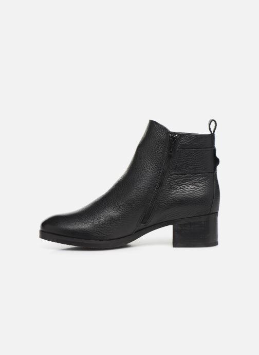 Bottines et boots Clarks Mila Charm Noir vue face