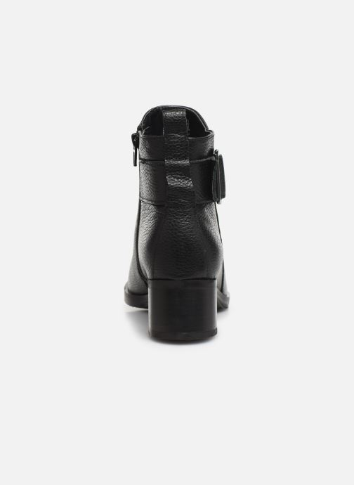Bottines et boots Clarks Mila Charm Noir vue droite