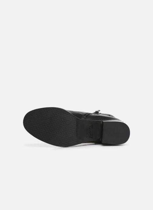 Bottines et boots Clarks Mila Charm Noir vue haut