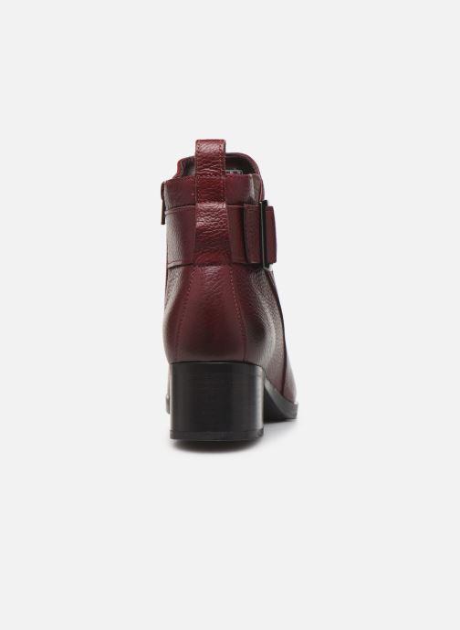 Bottines et boots Clarks Mila Charm Bordeaux vue droite