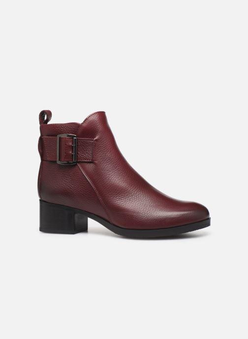 Bottines et boots Clarks Mila Charm Bordeaux vue derrière