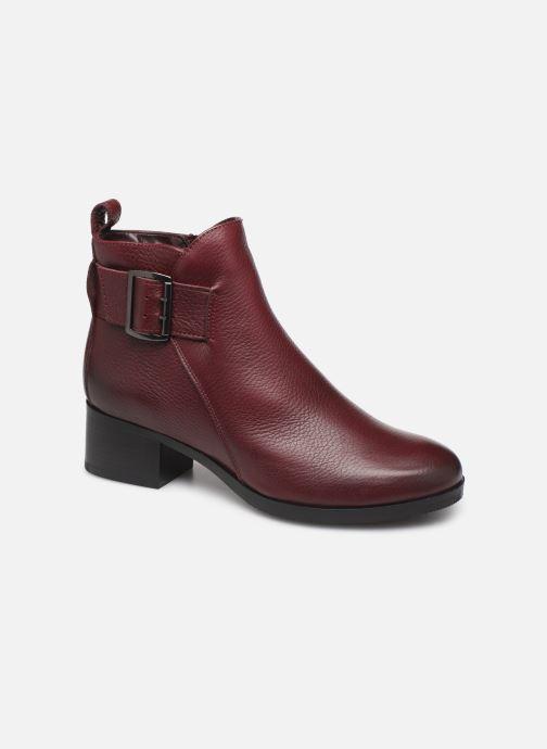 Bottines et boots Clarks Mila Charm Bordeaux vue détail/paire
