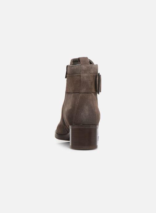 Bottines et boots Clarks Mila Charm Marron vue droite