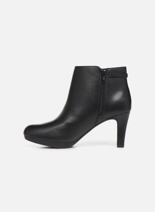 Boots en enkellaarsjes Clarks Adriel Mae Zwart voorkant