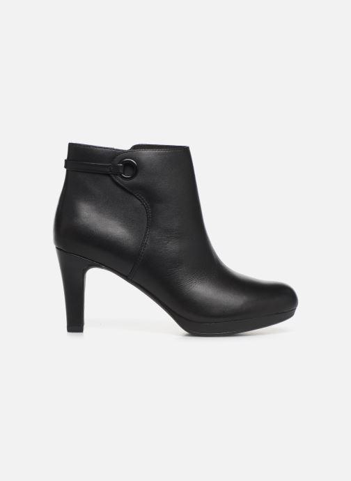 Boots en enkellaarsjes Clarks Adriel Mae Zwart achterkant