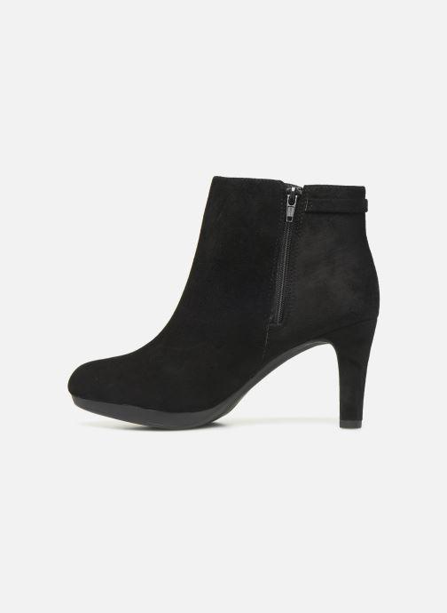 Bottines et boots Clarks Adriel Mae Noir vue face