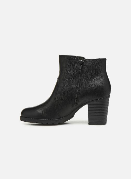 Bottines et boots Clarks Verona Gleam Noir vue face