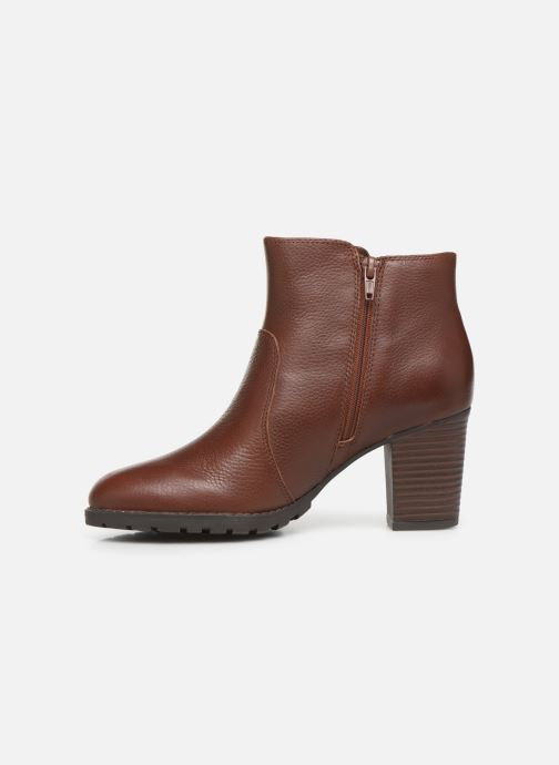 Boots en enkellaarsjes Clarks Verona Gleam Bruin voorkant