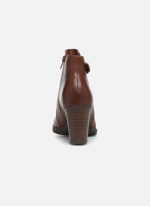 Boots en enkellaarsjes Clarks Verona Gleam Bruin rechts