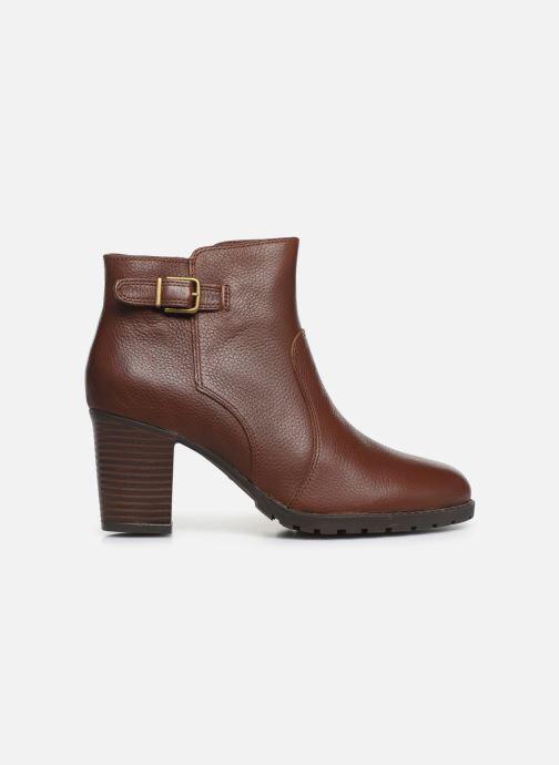Boots en enkellaarsjes Clarks Verona Gleam Bruin achterkant