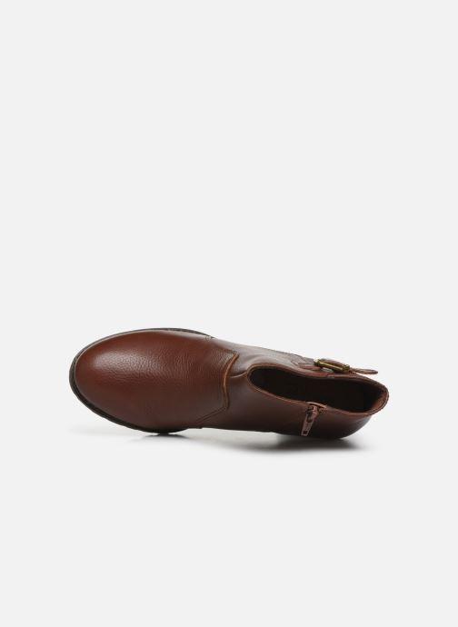 Boots en enkellaarsjes Clarks Verona Gleam Bruin links