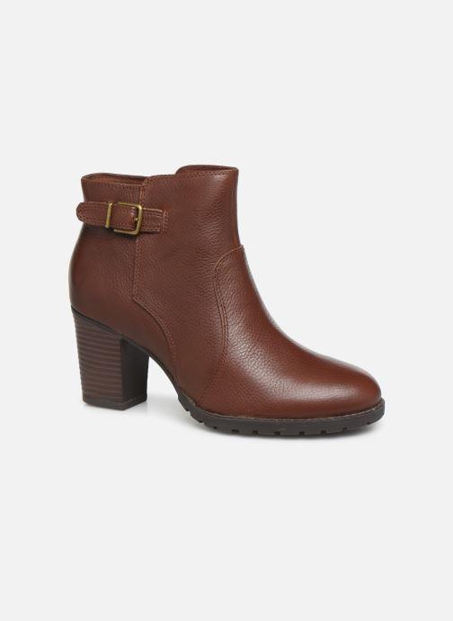 Boots en enkellaarsjes Clarks Verona Gleam Bruin detail