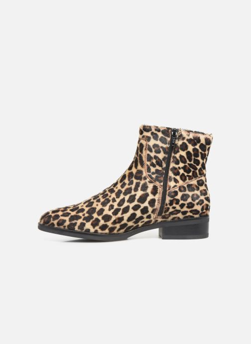 Boots en enkellaarsjes Clarks Pure Rosa Multicolor voorkant