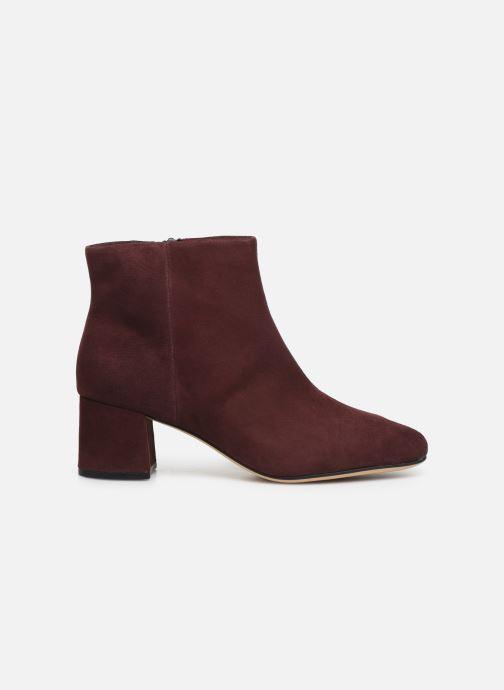 Bottines et boots Clarks Sheer Flora Bordeaux vue derrière