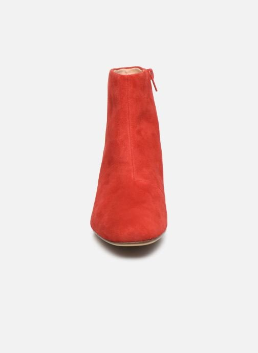 Ankle boots Clarks Sheer Flora Red model view