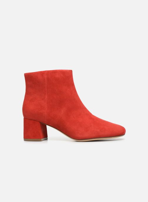 Ankle boots Clarks Sheer Flora Red back view