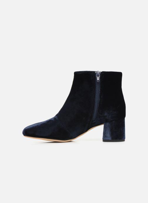 Bottines et boots Clarks Sheer Flora Bleu vue face