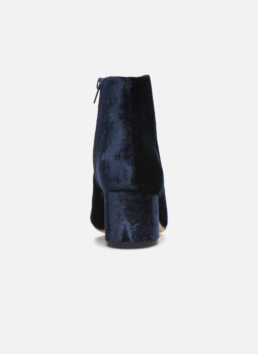 Bottines et boots Clarks Sheer Flora Bleu vue droite