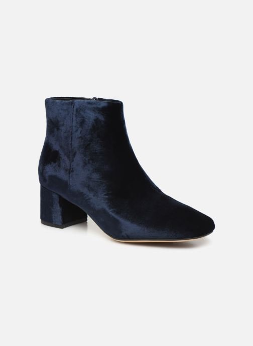 Bottines et boots Clarks Sheer Flora Bleu vue détail/paire