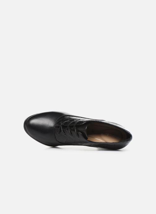 Bottines et boots Clarks Kaylin Ida Noir vue gauche